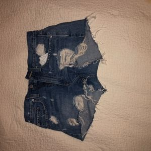Urban Outfitters *Ripped* Jean shorts   Size 26  
